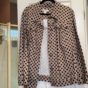 3x CJBanks twill long sleeves jacket NWT
